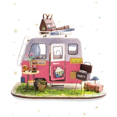 Quebra Cabeça 3D Happy Camper - Loja Lua Feliz