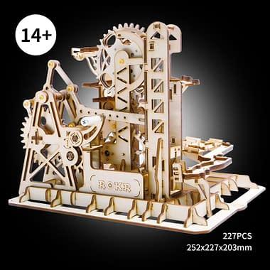 Quebra Cabeça 3D Tower Coaster - Loja Lua Feliz