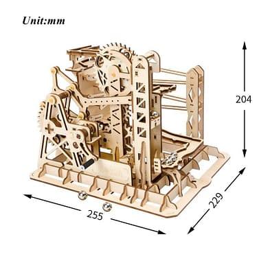 Quebra Cabeça 3D Lift Coaster - Loja Lua Feliz