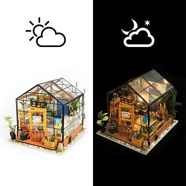 Brinquedo Educativo Miniatura Casinha c/ Mobília - Loja Lua Feliz