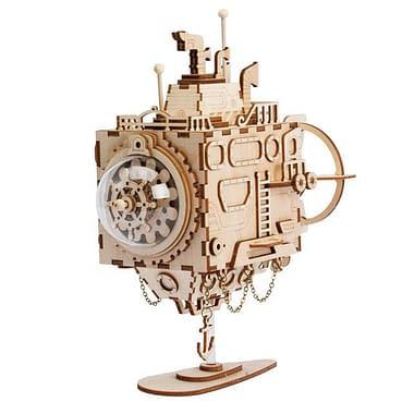 Quebra Cabeça 3D Robô Musical - Loja Lua Feliz