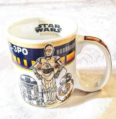Caneca Star Wars R2-D2 BB-8 C-3PO - Loja Lua Feliz