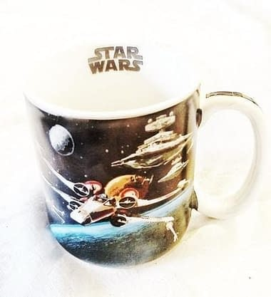 Caneca Star Wars X-Wing Tie Fighter - Loja Lua Feliz
