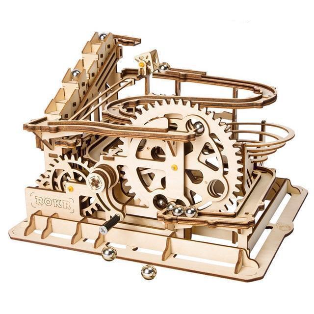 Quebra Cabeça 3D Waterwheel Coaster - Loja Lua Feliz