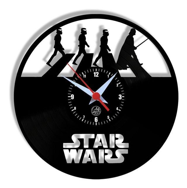 Relógio de Parede Star Wars Abbey Road