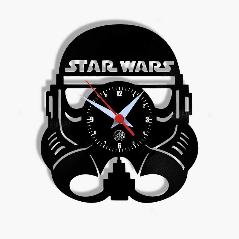 relogio de parede star wars stormtrooper
